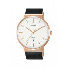 Alba Men Leather Strap Watch AS9G20X1