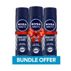 Nivea Men Deodorant Protect & Care 150ml Bundle BUNNPROTECT150