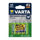 Virta ACCU Rechargeable AA Battery 1350 mAh - Pack of 4, VA884346