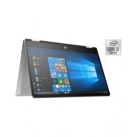 HP Pavilion x360 14-DH1025NE Convertible Touch Laptop – Core i3 2.1GHz 4GB 256GB 14inch FHD Mineral Silver