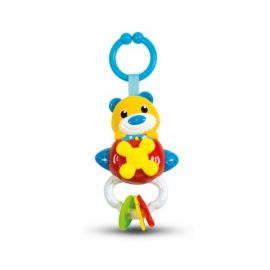 Clementoni Baby Rattle Bear On Plane B/O