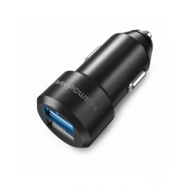 Ravpower 36W Dual Port Usb-A+Usb-C Car Charger Black  Rp-Pc022 191280004748