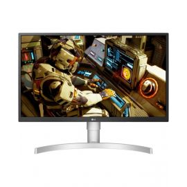 LG 27UL550-W 27 Inch 4K UHD IPS LED HDR Monitor with Radeon Freesync Technology and HDR 10, Silver