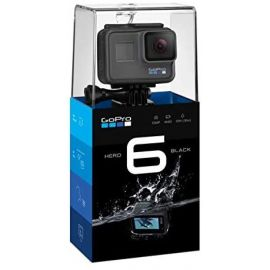 GoPro HERO6 Black Waterproof Digital Action Camera for Travel with Touch Screen 4K HD Video 12MP Photos 2ABCHDHX601