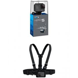 GoPro HERO5 Black with Chesty Chest Harness 2ABH5CHSBNDL