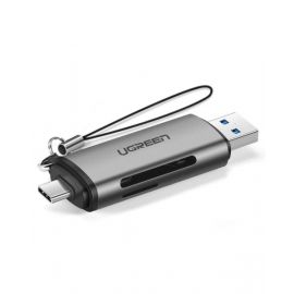 Ugreen Usb-C Tf + Sd Card Reader With Usb Power 50706 6957303857067