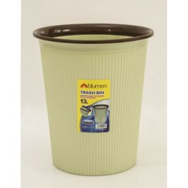 Blumen Plastic Trash Can 13L -B8885