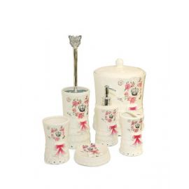 BLUMEN BATHROOM SET  6 PCS	BKH17007
