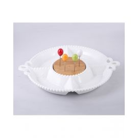 Blumen Serving Dish - BPJ02909