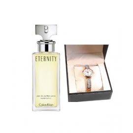 CK Eternity dp162925 + Monteva Ladies Watch MOM6234 - BUNDP162234