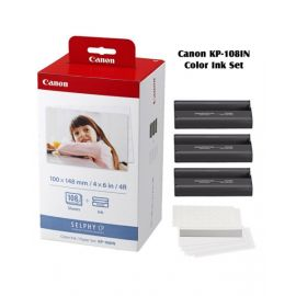 Canon Color Ink Paper Set KP108IN for Selphy CP910 CP810 Photo Printer CARP108