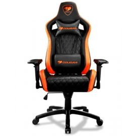 Cougar Gaming Chair / Adjustable Design - Cgchairarmorsblk