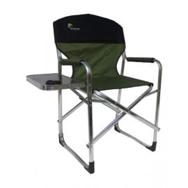 Camptrek - Aluminum Directors Chair With Side Table - CK104A