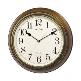 RHYTHM QTZ WALL CLOCK CR06 CMH722CR