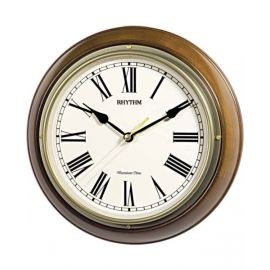 RHYTHM QTZ WALL CLOCK CR06 CMH723CR