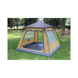 Camptrek Instant Tent With Shade 4 /5 P Gold Coffe - CT1019BTNT
