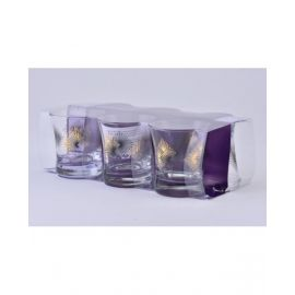 DIMLAJGLASS TUMBLER SET RAY GOLD DJ42616