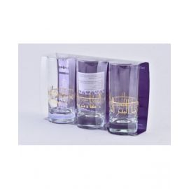 DIMLAJTUMBLER GLASS SET DEYAR GOLD DM42809