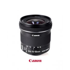 Canon EF-S 10-18mm f/4.5-5.6 IS STM Ultra-Wide Zoom
