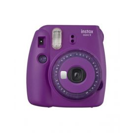 Fujifilm Instax Mini 9 Instant Film Camera, Clear Purple