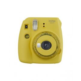 Fujifilm Instax Mini 9 Instant Film Camera, Clear Yellow