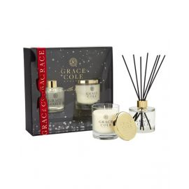 Delightful Duo - 200g Candle and 200ml Reed Diffuser - Nectarine Blossom & Grapefruit GCG1779009