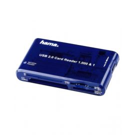 Hama 55350 Multicard Reader Blue