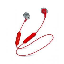JBL Endurance Run BT Sweat Proof Wireless In Ear Sport Headphones, Red - JBLENDRNBT1RED - JBLENDRNBT1RED