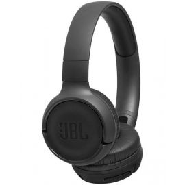 JBL Tune 500BT Powerful Bass Wireless On-Ear Headphones with Mic Black JBLT500BTBLK