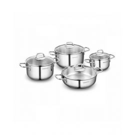 Korkmaz Perla 8 Piece Cookware Set - A1606
