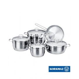 Korkmaz Astra 9Pc Cookware Set KOR1900CW