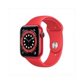 Apple Watch Series 6 GPS 40Mm Red Aluminium Case With Red Sport Band M00A3