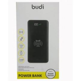Budi 10000Mah Wireless Power Bank With Charger M8J081