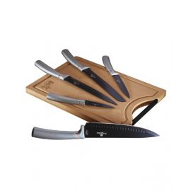 Makaan Knife Set 6P with Bamboo Cutting Board MBH017