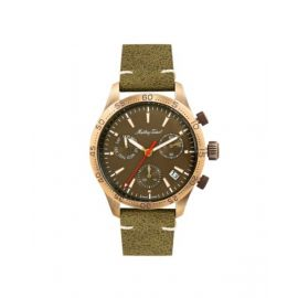 Mathey Tissot Green Dial Gents Watch - H1822CHLBR