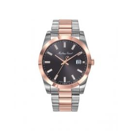 Mathey-Tissot Rolly I Series Black Dial Analog Stainless Steel Mens Watch - H450RN