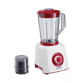Bosch Solo Blender 450 W, stainless steel blade, Red White - MMB12P4RGB