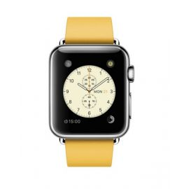 Apple Watch 38mm Stainless Steel Case with Marigold Modern Buckle MMFG2