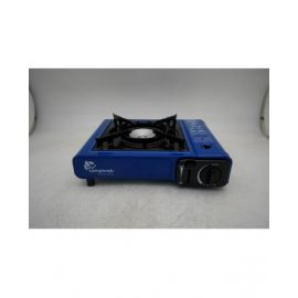 Camptrek Gas One Btu Portable Butane Gas Stove Automatic Ignition With Carrying Case, Csa Listed .Blue    - MS2500