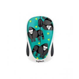 Logitech Party Collection Gorilla M238 Wireless Mouse, Green