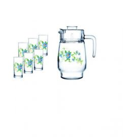 ARCOPAL CYBELE 7PC DRINK SET SS1/B3