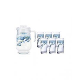 ARCOPAL ALIYA BLUE 7P DRINK SET SS1/B3