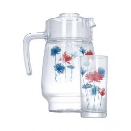 Luminarc7 Pieces Allium + Tivoli Drink Water Set - N8922