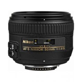 Nikon Nikkor 50mm 1.4G Interchangeable Prime Lens for Nikon Cameras
