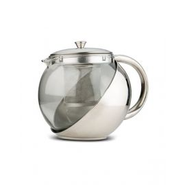 NAVA Glass Teapot Acer with Stainless Steel infusor 1100ml NV1001085