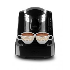 ARZUM OKKA MINO TURKISH COFFEE MACHINE BLACK CHROME UPGRADE OK002