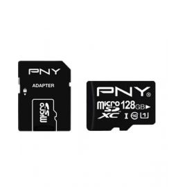 Pny Class 10 128GB Micro SD Card With Adapter
