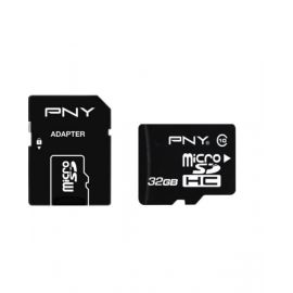 Pny Class 10 32GB Micro SD Card With Adapter