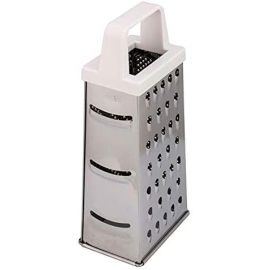 Prestige 4 Way Box Grater Silver & White PR54050