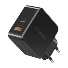 PROMATE 36W SUPER SPEED WALL CHARGER WITH USB-C POWER DELIVE